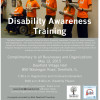 Disability awareness training poster
