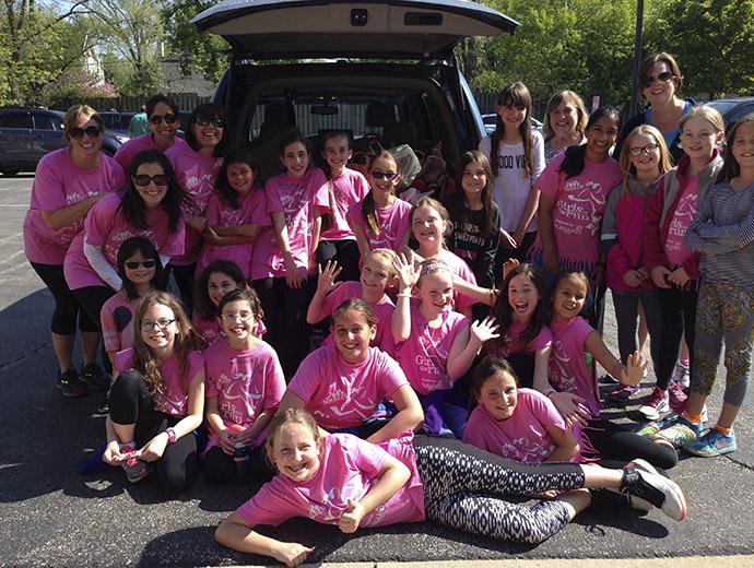 Girls On The Run Volunteers