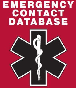 emergency contact database west deerfield township